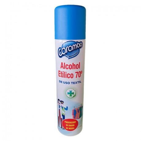 Alcohol Etílico desinfectante 70º spray - 300 ml.