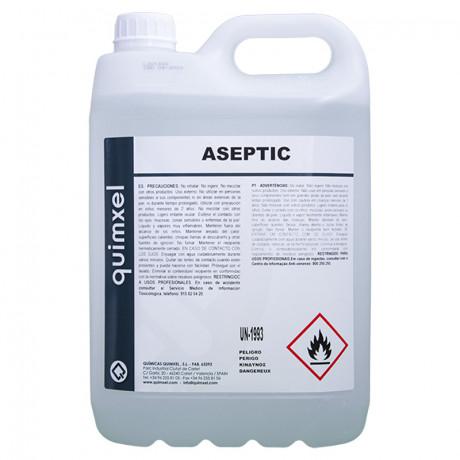 Gel Hidroalcohólico Desinfectante Aseptic 5 L.