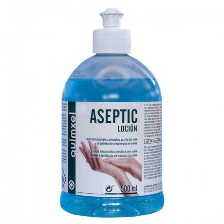 Loción Hidroalcohólica Desinfectante Aseptic 500 ml.
