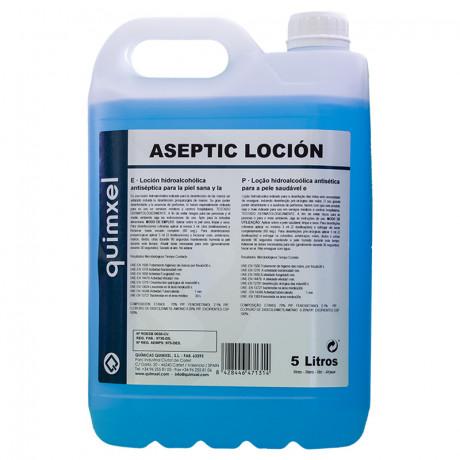 Loción Hidroalcohólica Desinfectante Aseptic 5 L.
