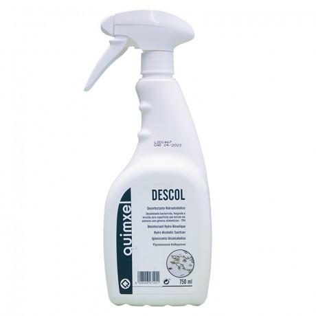Desinfectante Hidroalcoholico Descol 750 ml.