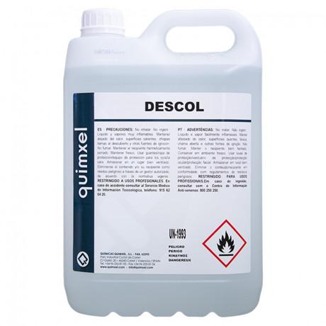 Desinfectante Hidroalcoholico Descol 5 L.