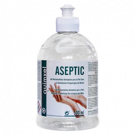 Gel Hidroalcohólico Desinfectante Aseptic 500 ml.